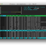 """htop – an improved """"top"""""""