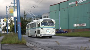First generation trolley buses served Vancouver between 1948 and 1984