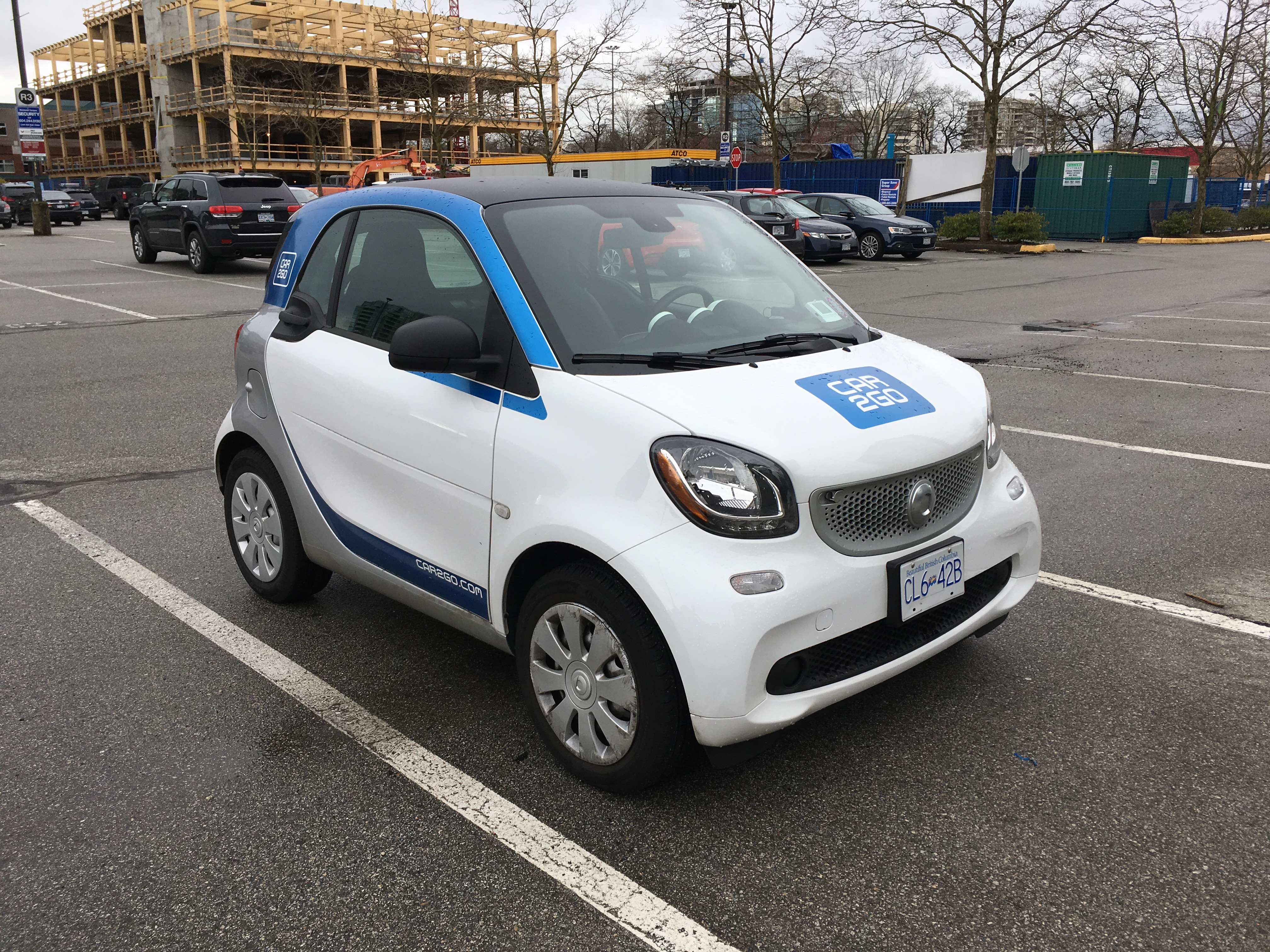 Driving around with car2go