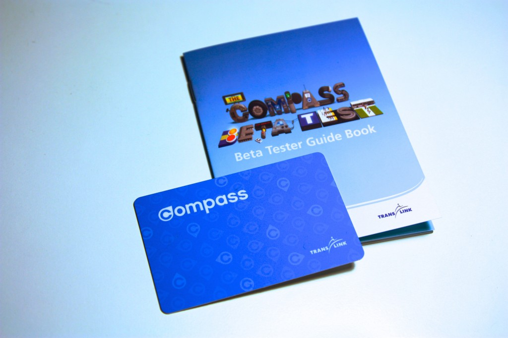 My beta compass card