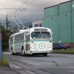 Ride on an old Brill trolley bus