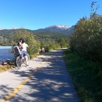 Cycling the Whistler Valley Trail